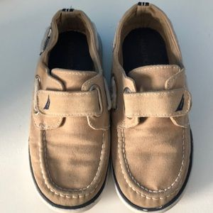 Náutica boat shoes toddler